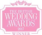 British Wedding Awards Winner 2017