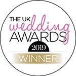 The UK Wedding Awards Winner 2019