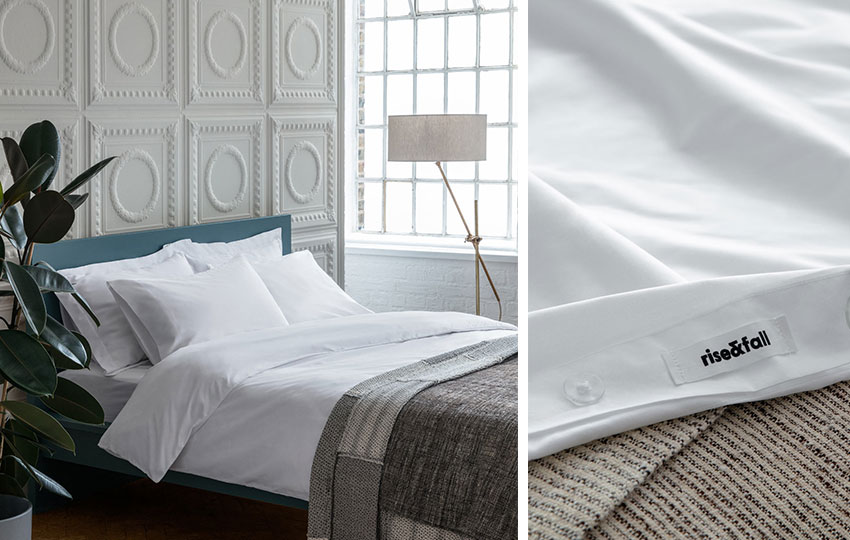 400 Thread Count Bed Linen from Rise & Fall at The Wedding Shop