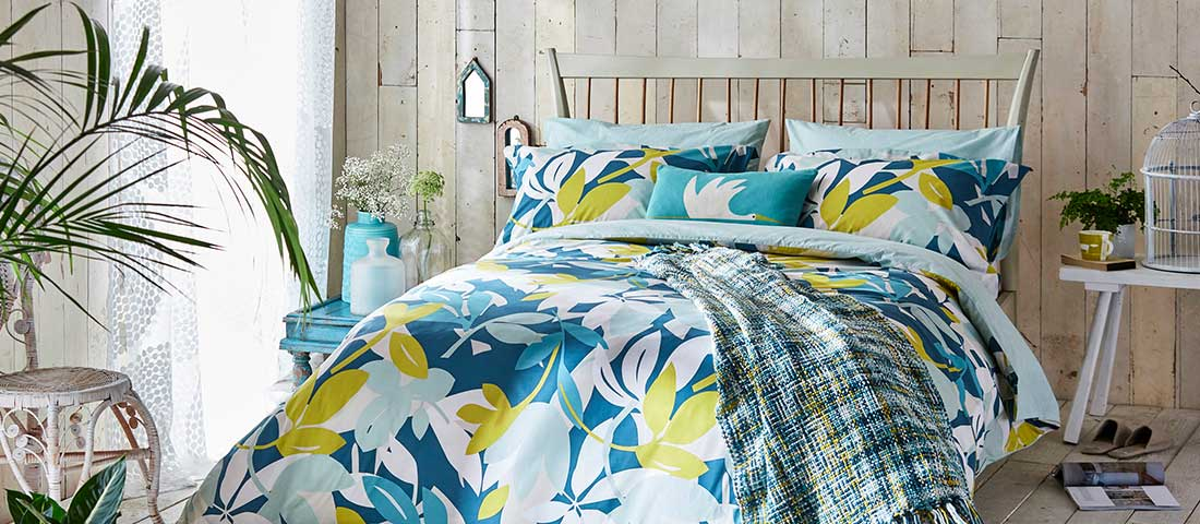 Bed Linen from Scion at The Wedding Shop
