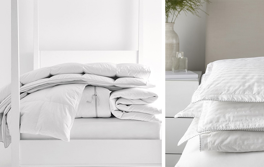 Duvets from The White Company at The Wedding Shop