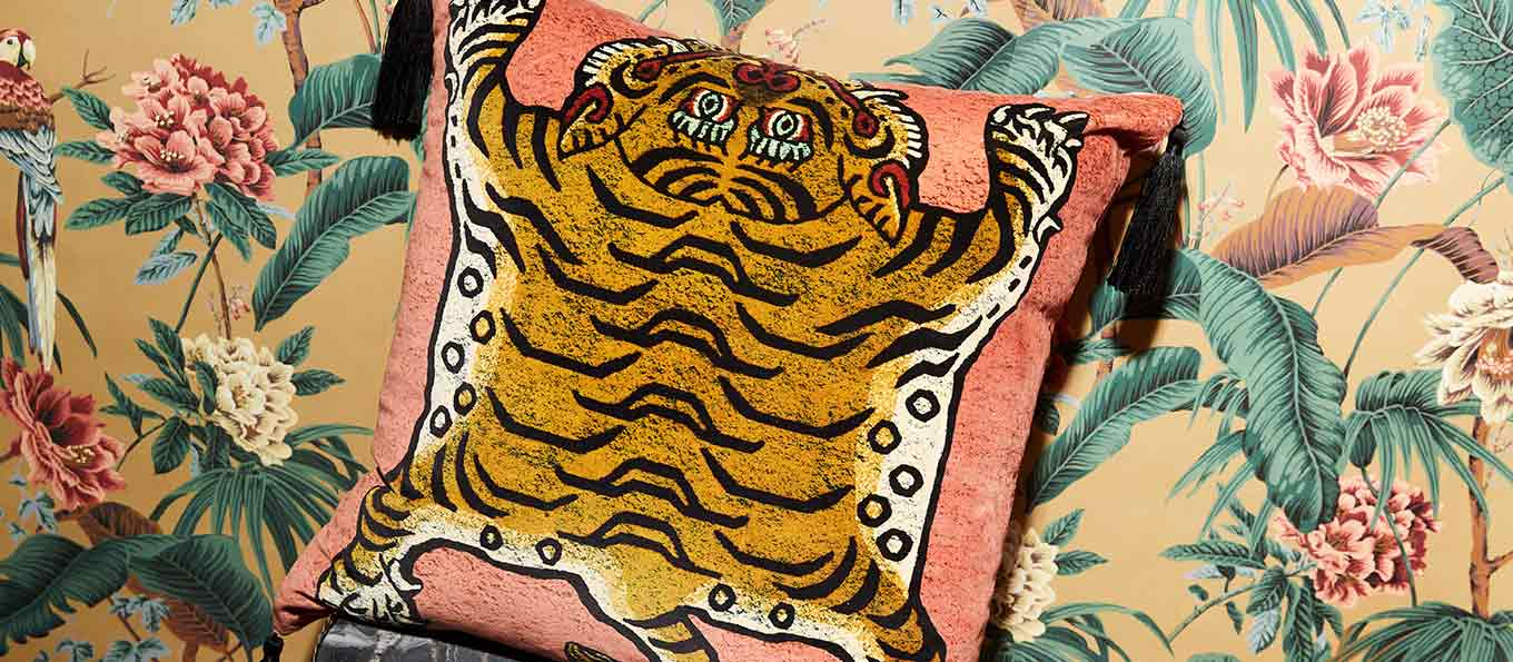 House of Hackney Velvet Cushion