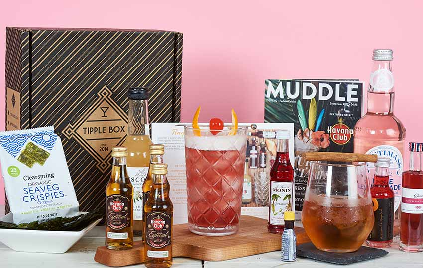 Tipple box subscription pack