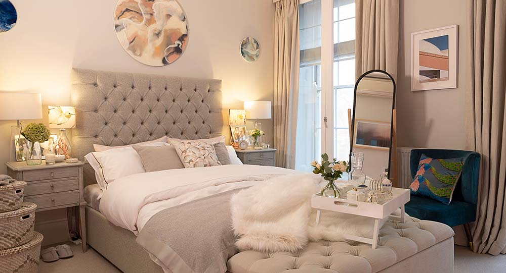 The Wedding Shop London Townhouse Master Bedroom