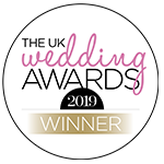 The UK Wedding Awards Winner 2019