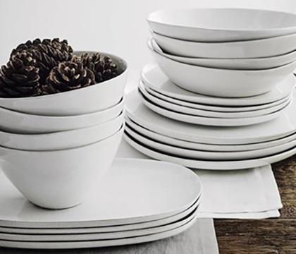 Shop white tableware
