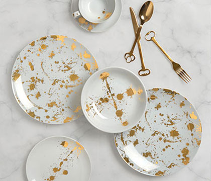 Browse Metallic Tableware