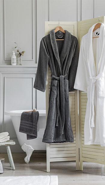Designed by AMARA Bath robes at TWS