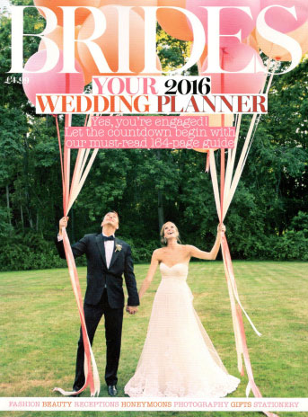 Brides Magazine 2016 Wedding Planner Cover