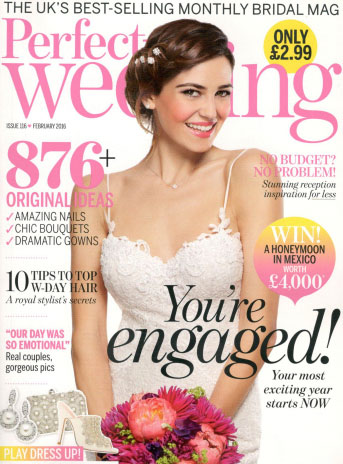 Perfect Wedding February 2016 Cover