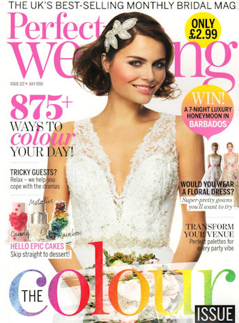 Perfect Weddings July 2016 Article