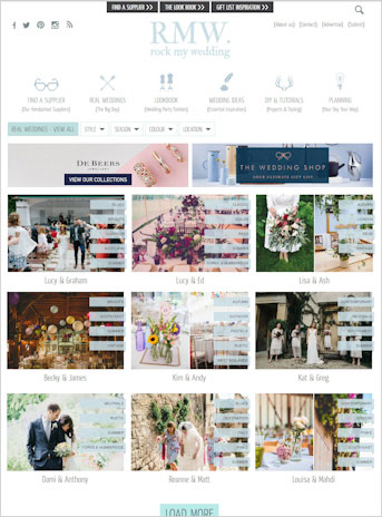 Rock My Wedding 2016 Blog Cover