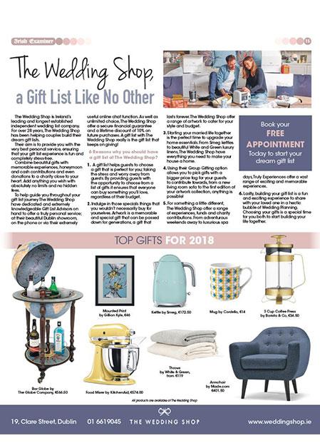 Press | The Wedding Shop