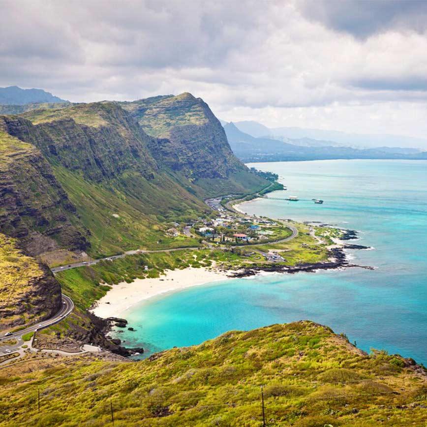 Luxury Hawaii Island Hopping Honeymoon, 15 days for  €5,100